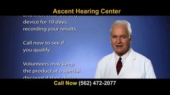 Ascent Hearing Center TV Spot, 'Hear But Don't Understand?' - Thumbnail 9