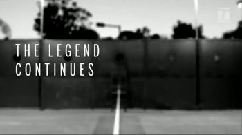 Tennis Warehouse Wilson Pro Staff RF97 Autograph TV Spot, 'Legend' - 110 commercial airings