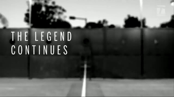 Tennis Warehouse Wilson Pro Staff RF97 Autograph TV Spot, 'Legend' - 110 commercial airings