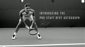 Tennis Warehouse Wilson Pro Staff RF97 Autograph TV Spot, 'Legend' - Thumbnail 9