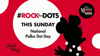 Minnie Mouse and Gray Malin Rock The Dots thumbnail