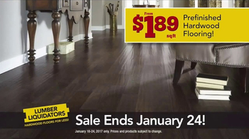 Lumber Liquidators TV Spot, 'Waterproof Hardwood' - Thumbnail 3