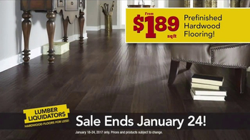Lumber Liquidators TV Spot, 'Waterproof Hardwood' - Thumbnail 4
