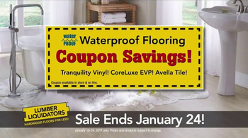 Lumber Liquidators TV Spot, 'Waterproof Hardwood' - Thumbnail 6