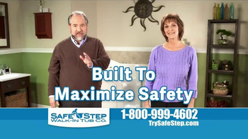 Safe Step Walk-In Tubs TV Spot, 'Heated Seat Feature'