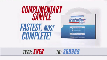 Instaflex Advanced TV Spot, \'Complimentary Sample\'
