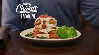 Carrabba's Grill Chicken Parmesan Lasagne TV Spot, 'A New Twist' - 2539 commercial airings