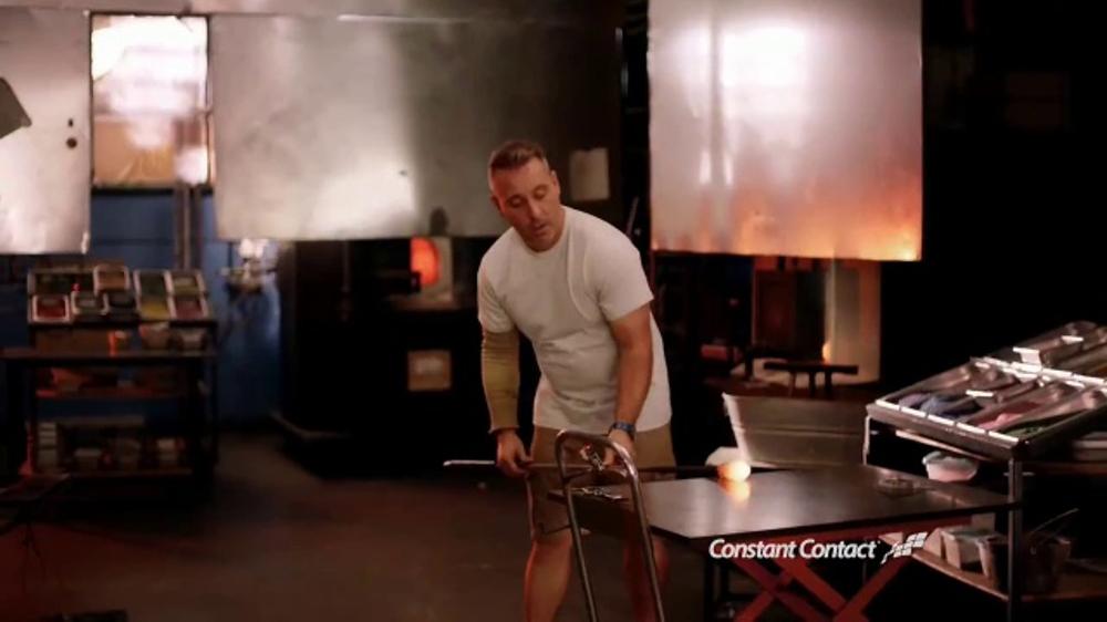 Constant Contact TV Commercial, 'Luke Adams Glass Blowing Studio'