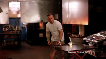 Constant Contact TV Spot, 'Luke Adams Glass Blowing Studio' - 4266 commercial airings