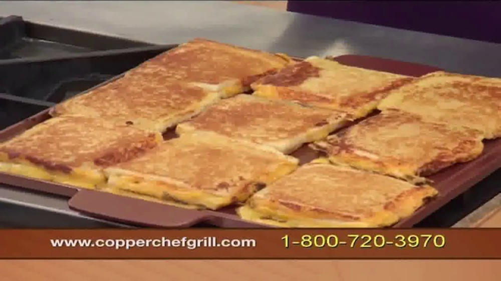 Copper Chef Grill TV Commercial, \'Indoor Grilling\' - iSpot.tv