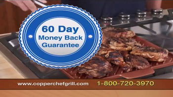 Copper Chef Grill TV Spot, 'Indoor Grilling' - Thumbnail 10