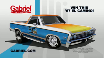 Gabriel TV Spot, 'Retro El Camino Sweepstakes' - Thumbnail 2
