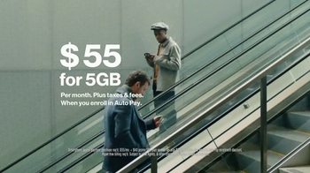 Verizon 5GB Plan TV Spot, '5GB for $55' - Thumbnail 6