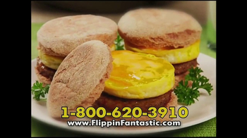 Flippin' Fantastic TV Spot, 'Perfect Pancakes' Featuring Jeremy Rabe - 911 commercial airings