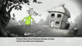 Symbicort TV Spot, 'Wolf: Huff and Puff'