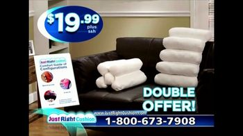 Just Right Cushion TV Spot, 'Get Comfortable'