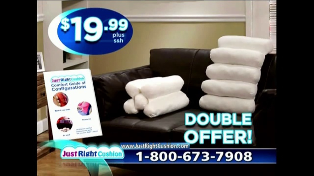 Just Right Cushion TV Commercial, 'Get Comfortable'