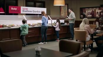 Ruby Tuesday Garden Bar TV Spot, 'Get Creative' - Thumbnail 1