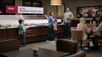 Ruby Tuesday Garden Bar Tv Commercial Get Creative