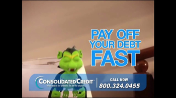 Consolidated Credit Counseling Services TV Spot, 'Pay Off Your Debt Fast' - Thumbnail 4