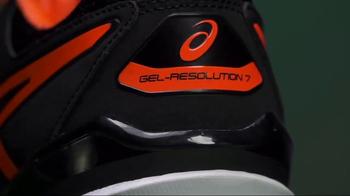 Tennis Warehouse TV Spot, 'ASICS Gel-Resolution 7 & Solution Speed 3' - Thumbnail 4