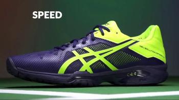 Tennis Warehouse TV Spot, 'ASICS Gel-Resolution 7 & Solution Speed 3' - Thumbnail 6