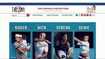 Tennis Express TV Spot, 'Dress Like the Tennis Stars' - Thumbnail 1