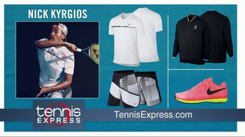 Tennis Express TV Spot, 'Dress Like the Tennis Stars' - Thumbnail 7