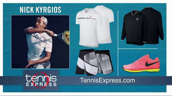 Tennis Express TV Spot, 'Dress Like the Tennis Stars' - Thumbnail 9