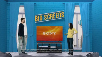 Rent-A-Center TV Spot, 'Big Screens'