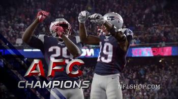 NFL Shop TV Spot, 'AFC Championship Collection: New England Patriots' - Thumbnail 1
