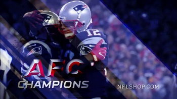 NFL Shop TV Spot, 'AFC Championship Collection: New England Patriots' - Thumbnail 2
