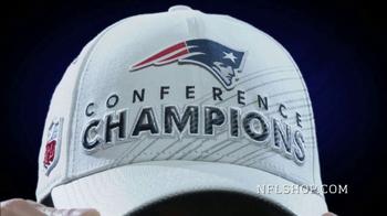 NFL Shop TV Spot, 'AFC Championship Collection: New England Patriots' - Thumbnail 4