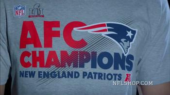 NFL Shop TV Spot, 'AFC Championship Collection: New England Patriots' - Thumbnail 5
