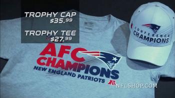 NFL Shop TV Spot, 'AFC Championship Collection: New England Patriots' - Thumbnail 9