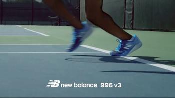Tennis Warehouse TV Spot, 'New Balance 996 v3' - Thumbnail 8
