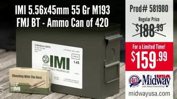 MidwayUSA TV Spot, 'Need Ammo: IMI 5.56x45mm' - Thumbnail 3