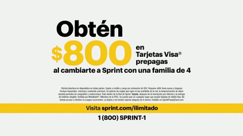 Sprint Unlimited Freedom TV Spot, 'Felicidad: $800 dólares' [Spanish] - Thumbnail 7