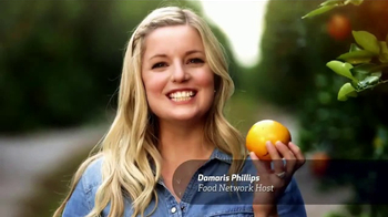 Florida\'s Natural TV Spot, \'Food Network: Groves\' Feat. Damaris Phillips
