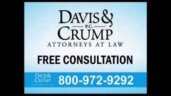 Davis & Crump, P.C. TV Spot, 'Hernia Mesh Complications' - Thumbnail 8