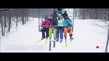 I LOVE NY TV Spot, \'A Skiing Getaway\'