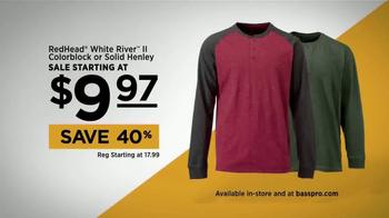 Bass Pro Shops TV Spot, 'Henley & Reel' Featuring Kevin VanDam - Thumbnail 5