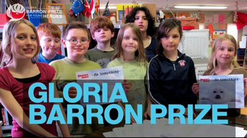 Gloria Barron Prize for Young Heroes TV Spot, 'Call for Applications' - Thumbnail 1