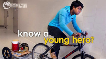 Gloria Barron Prize for Young Heroes TV Spot, 'Call for Applications' - Thumbnail 6
