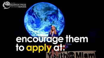 Gloria Barron Prize for Young Heroes TV Spot, 'Call for Applications' - Thumbnail 8
