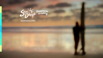 Visit San Diego TV Spot, 'A San Diego Summer Feeling: Happiness is Calling' - Thumbnail 7