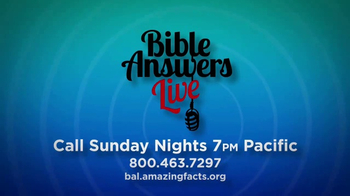 Amazing Facts, Inc. TV Spot, 'Bible Answers Live' - Thumbnail 7