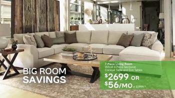 Ashley HomeStore The Big Event TV Spot, 'Big Room Savings' - Thumbnail 6