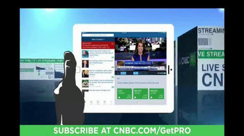 CNBC Pro TV Spot, 'In-Depth Access'