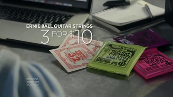 Guitar Center TV Spot, 'Gig Bags & Guitar Strings'